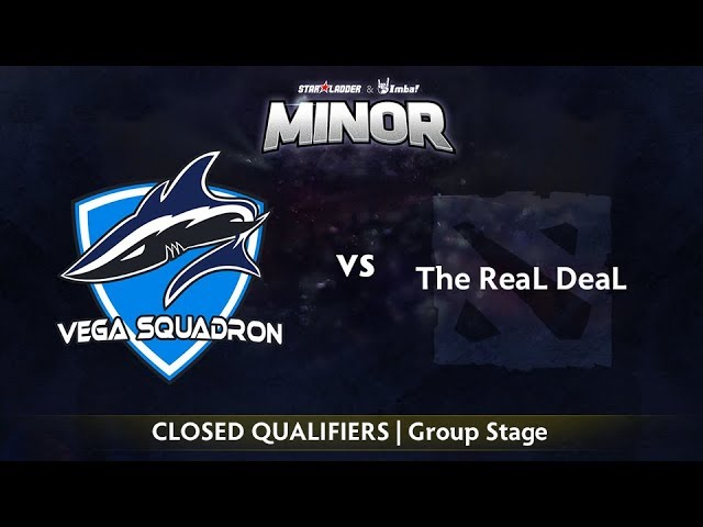 Vega vs The ReaL DeaL Game 1 - StarLadder ImbaTV EU Qualifier: Group Stage