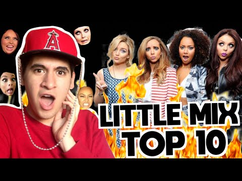TOP 10 CANCIONES DE LITTLE MIX 🔥 GERA HUSSEIM