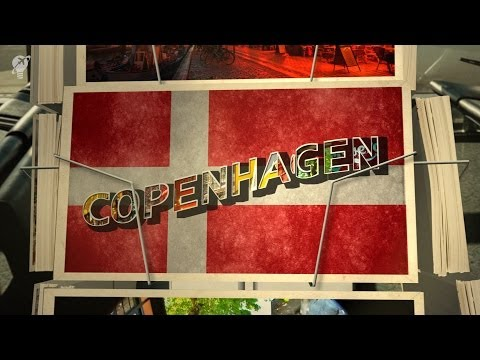 postcards Copenhagen Denmark