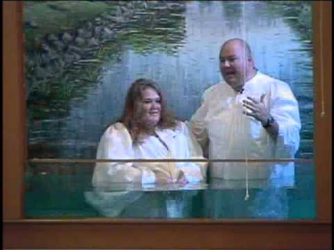 Calvary Baptist Church Baptism 9-27-15