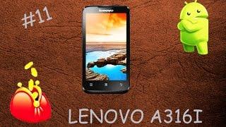 #11. Бюджетний смартфон lenovo a316i dual sim black розпакування. Rozetka.ua