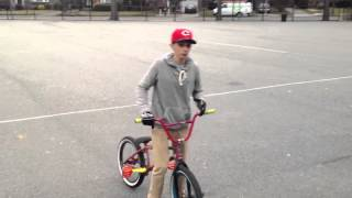 How to foot jam tail whip Bmx