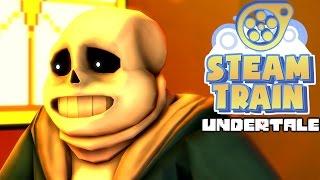 sfm steam train animated undertale bone jokes