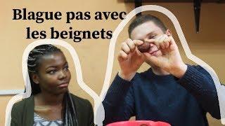 MANGER AFRICAIN!!SEANCE DEGUSTATION AVEC MON AMI RUSSE