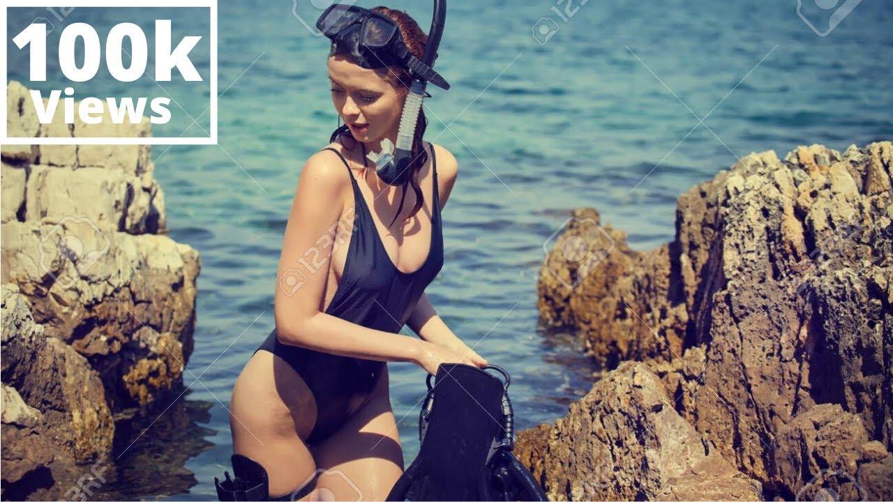 Download Hot Girl Snorkeling   Bikini Snorkelling   Girls Trip Diving