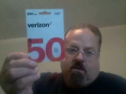 Walmart/Verizon Wireless Prepaid Phone Cards