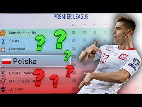 FIFA 19 | REPREZENTACJA POLSKI W PREMIER LEAGUE!