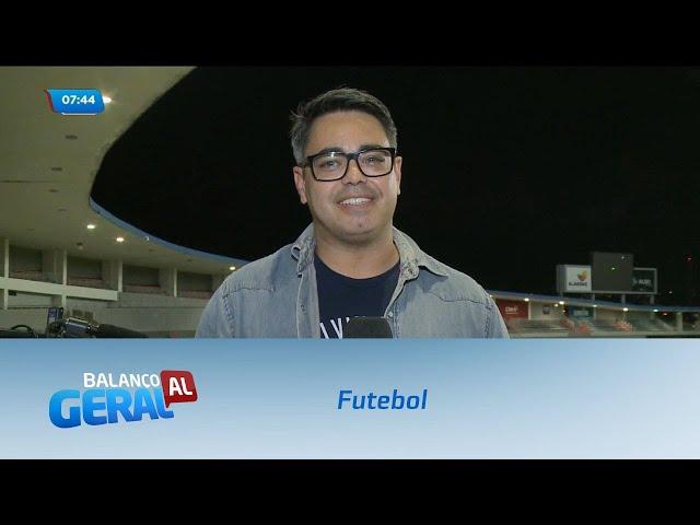 Futebol: CRB empata com o Operário no Estádio Rei Pelé
