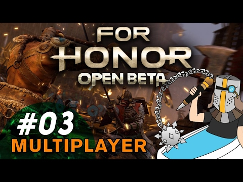 For Honor Knight Faction: Brawl Gameplay - For Honor Open Beta - PC Multiplayer Gameplay 03