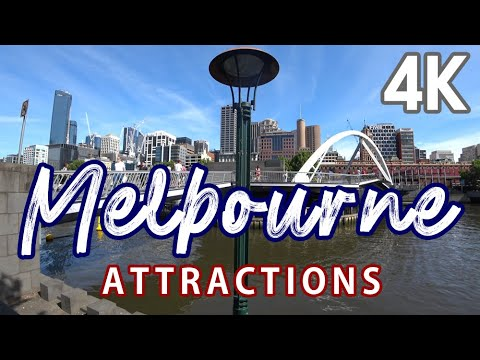 【4K UHD AUSTRALIA TRAVEL GUIDE】BEST PLACES IN MELBOURNE(watch Before You Go)