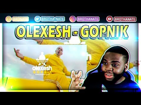 Olexesh - GOPNIK [Official Video] REACTION!!