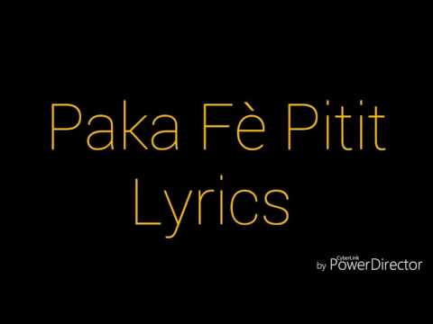 Gabel-Paka Fè Pitit Lyrics