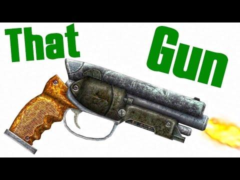 Fallout New Vegas: How to get That Gun Location (Unique Pistol)