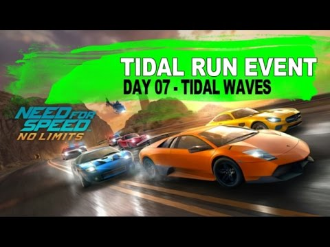 TIDAL RUN EVENT - DAY 07 Tidal Waves - Story & Races | Need for Speed No Limits