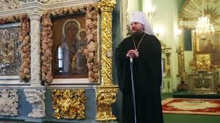 Слово митрополита Ферапонта в праздник Введения во храм Пресвятой Богородицы