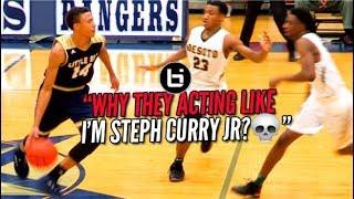 THEY DOUBLE TEAMED HIM LIKE STEPH CURRY JR? RJ Hampton vs Desoto Full Highlights