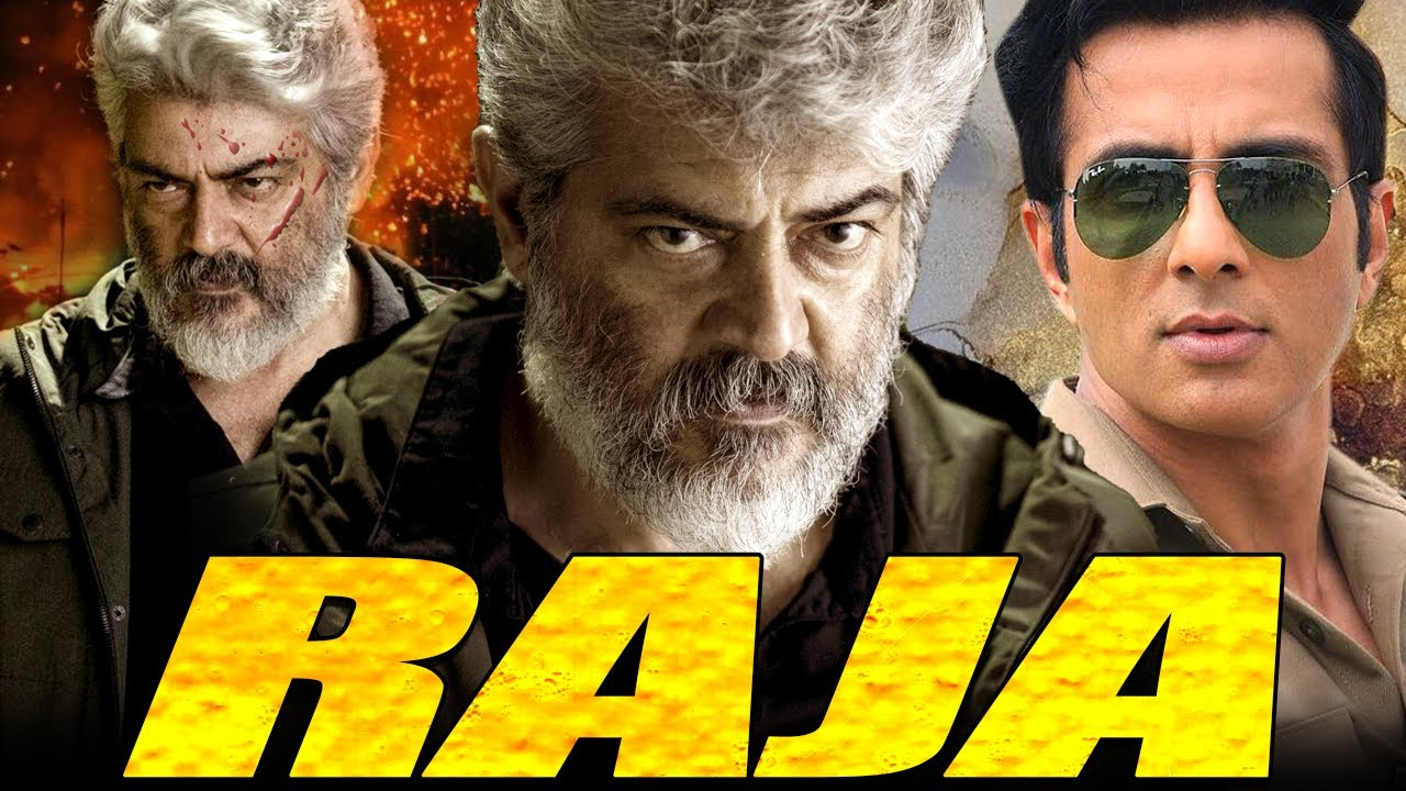 Download Raja Full South Indian Hindi Dubbed Movie | Ajith Kumar, Jyothika | Tamil Superhit Action Movie