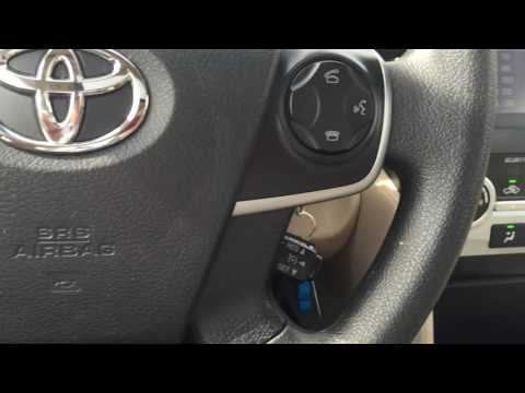2014 Toyota Camry LE value package for Victoria