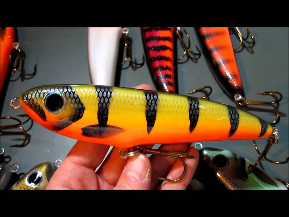 Custom Killshot Fishing Lures for musky pike stripers fresh and saltwater
