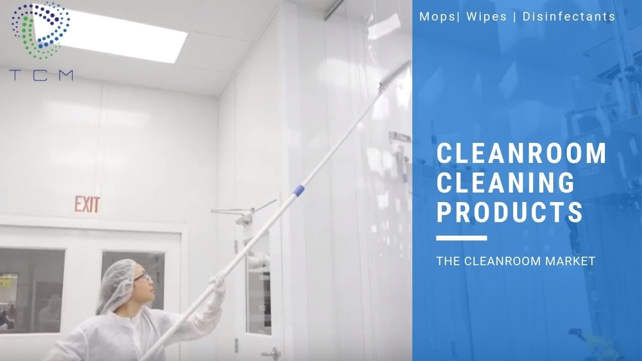 Cleanroom Mops, Wipes and Disinfectants | TCM