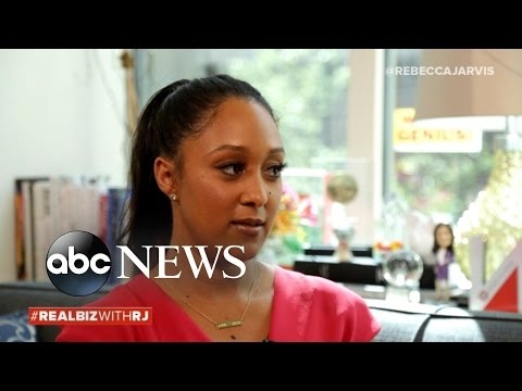 Tamera Mowry on Real Biz with Rebecca Jarvis