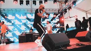 Harmonize in NAIROBI (SOUND CHECK AT KOROGA FESTIVAL)