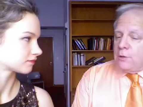 Hilary Hahn interviews Leonard Slatkin 1