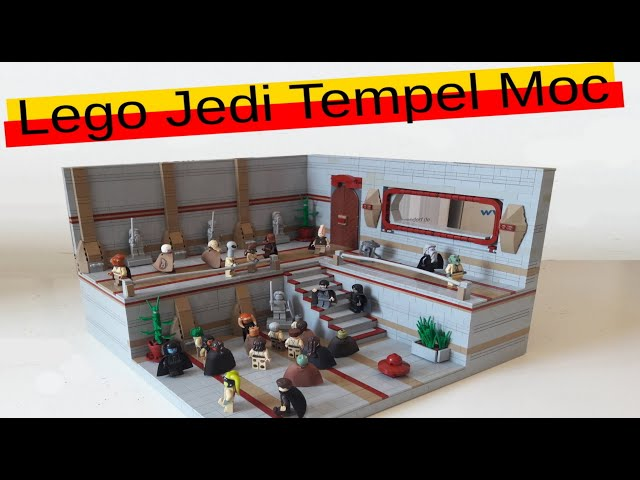 Lego Star Wars Jedi Tempel Moc