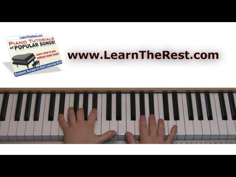 How To Play Human By The Killers On Piano