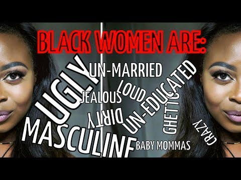 BLACK GIRLS ARE UGLY : everybody knows that!!