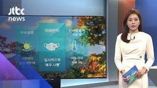 [날씨] 중국발 스모그…