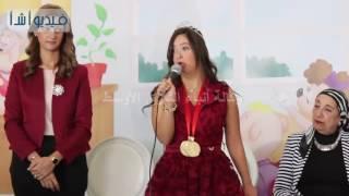 بالفيديو : تكريم الفنانة دينا عبدالله وسلمى صباحي والسباحة رحمة خالد فى اليوم العالمي للسكر