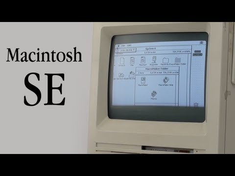 Macintosh SE Tour - Vintage Apple Tours