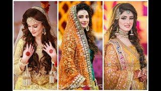 latest Mayo Mehndi bridal dresses new collection || beauty fashion