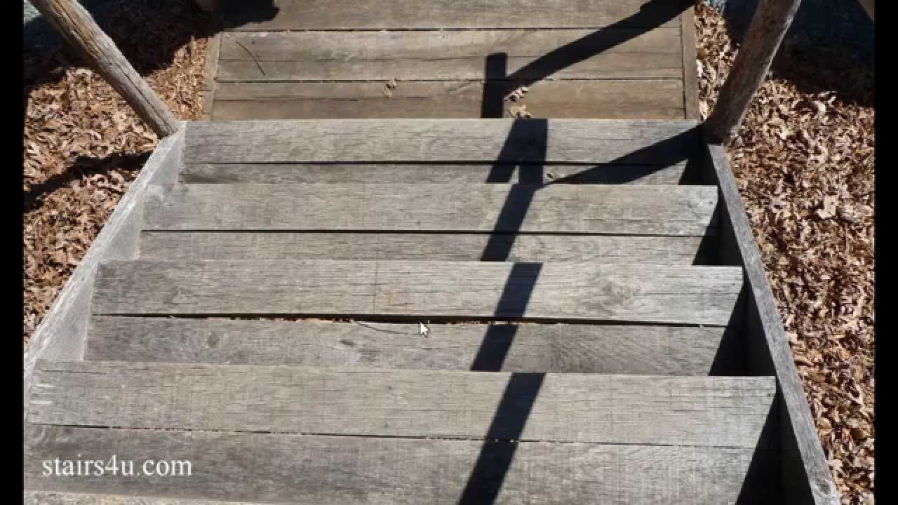 How To Keep Exterior Stair Treads From Separating – Damage ...