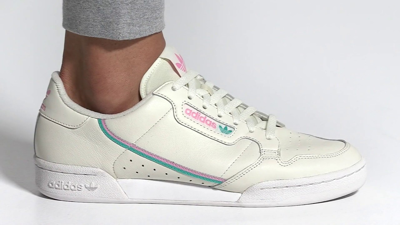 Tenis Adidas CONTINENTAL 80 Off White-True Pink | Falabella Colombia