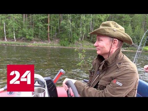 Эксклюзивная подборка! Как Путин справляет день рождения? // Москва. Кремль. Путин