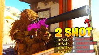 2 SHOTS is all it takes... (Modern Warfare BEST Oden Class Setup)