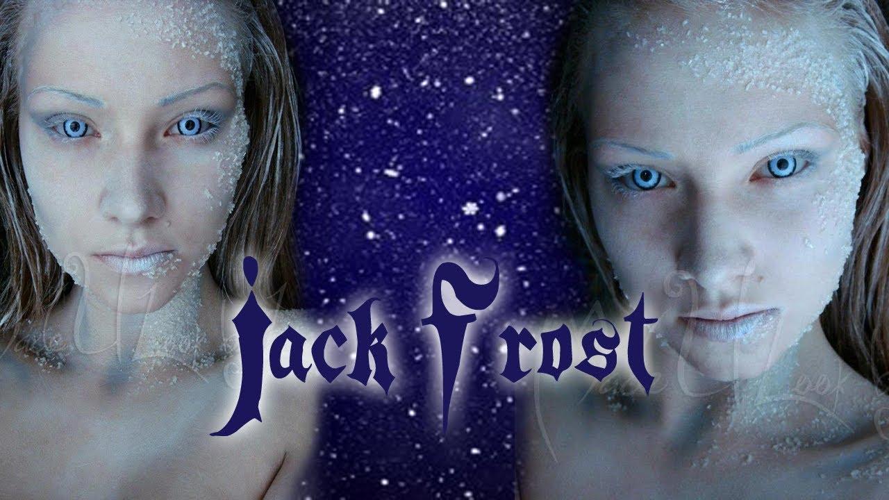 jack frost makeup tutorial
