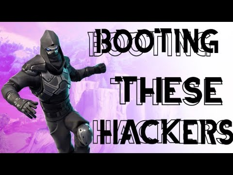 Hackers tried booting me off Fortnite then this happened... (I booted them)