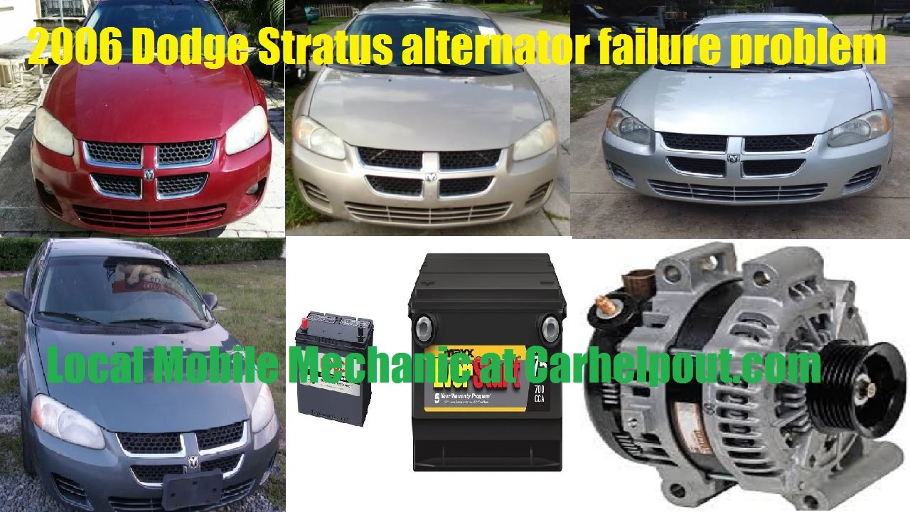 small resolution of mobile mechanic tips 25 2006 dodge stratus will not start problems youtube