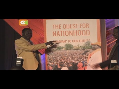 Nasa chief Odinga launches new book