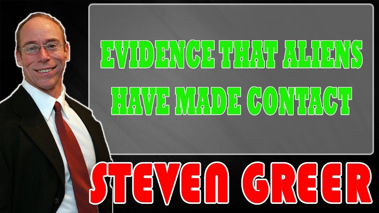 Steven Greer Latest (March 26, 2019) - Evidence That Aliens Have Made Contact | Steven Greer 2019