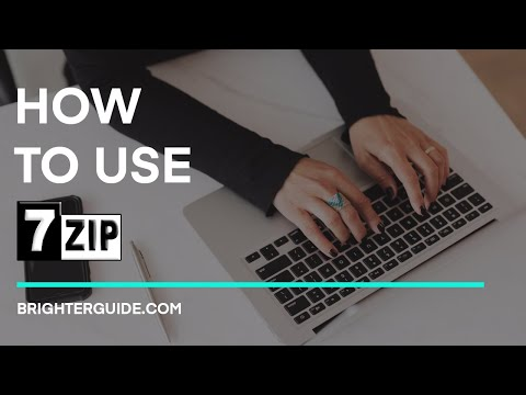 How to Use 7-Zip on Windows 10/7/8.1 (to Extract & Compress Files)