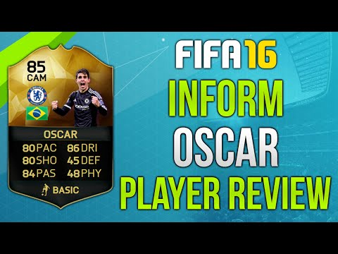 FIFA 16 IF Oscar Review (85) Fifa 16 Ultimate Team Player Review!