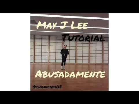 Abusadamente - May J Lee choreography Tutorial mirror
