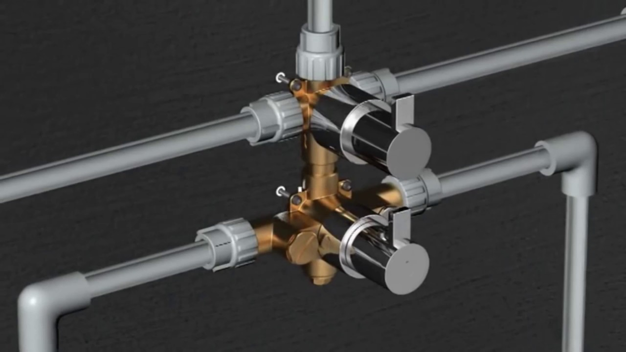 Installation Guide Thermostatic Shower Valves Youtube