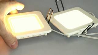 Светильник светодиодный потолочный Fusion 100х100мм(Новое поколение врезных светодиодных светильников серии FUSION обладает малой толщиной-26 мм. и широким углом..., 2011-08-07T06:59:55.000Z)