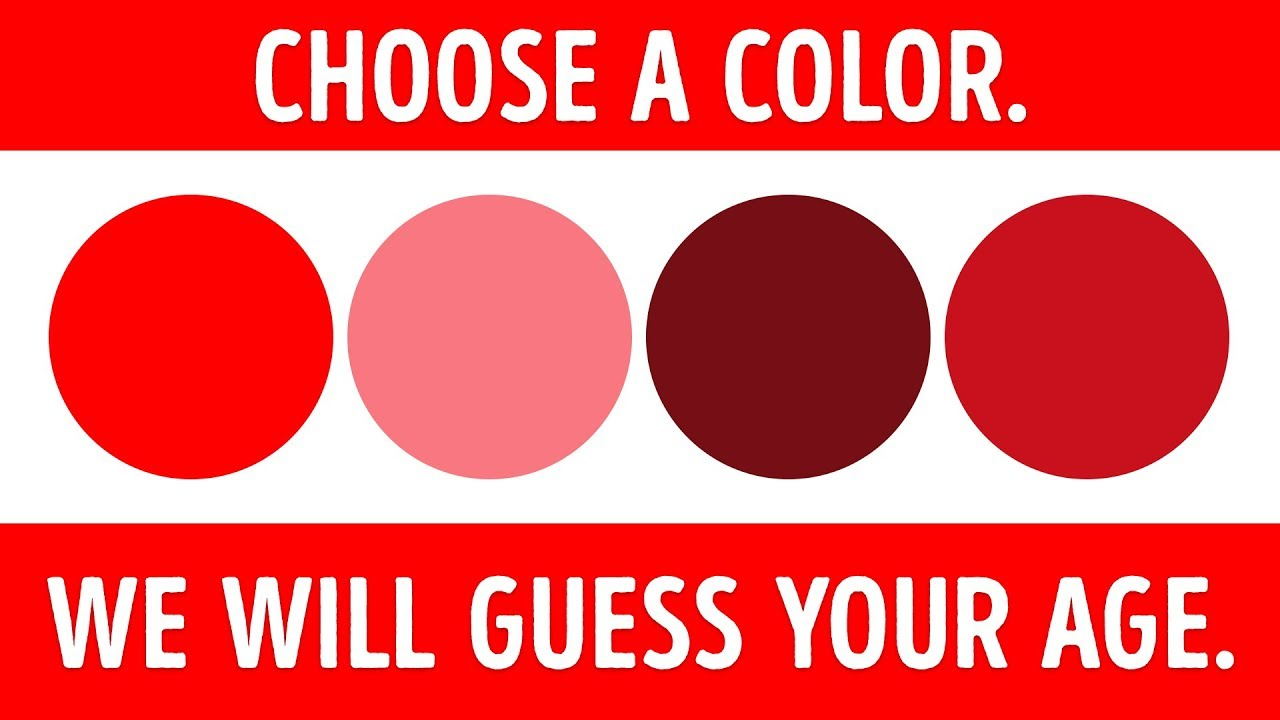 A color test that can tell your mental age youtube a color test that can tell your mental age stopboris Image collections