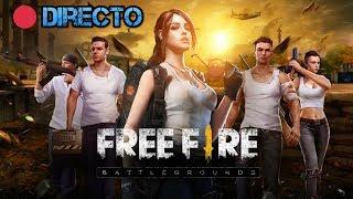 Free Fire en Directo - JUGANDO CON SUSCRIPTORES